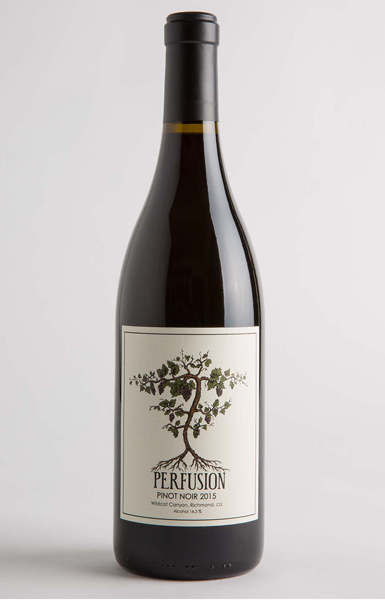 Perfusion Vineyard San Francisco Bay 2015 Pinot Noir
