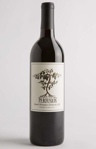 Perfusion Vineyard 2015 Howell Mountain Napa Valley Zinfandel
